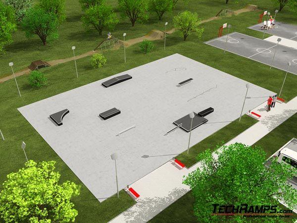 Przykładowy skatepark nr 170609