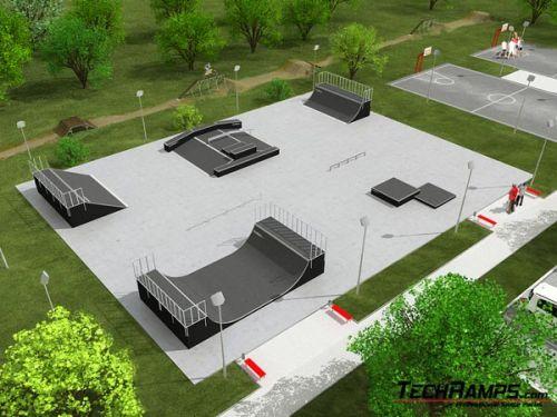 Przykładowy skatepark nr 210108