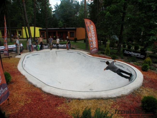 Przysucha - obóz Woodcamp - Betonowy Bowl