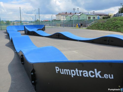 Pumptrack in Dukla