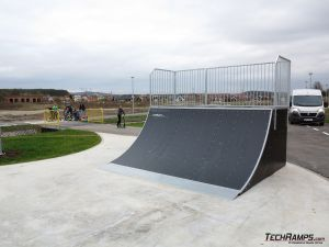 Quarter pipe - Bilcza
