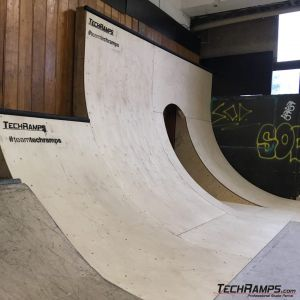 Quarter Pipe i wallride - Pool Forum