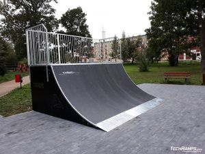 Quarter pipe Prestige technology in Orzysz