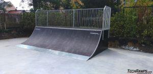 Quarter pipe - skatepark Iłowa