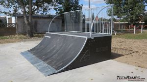 Quarter pipe - Techramps