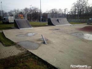 Quarter Pipe z Mini Quarter Pipem Gostyń
