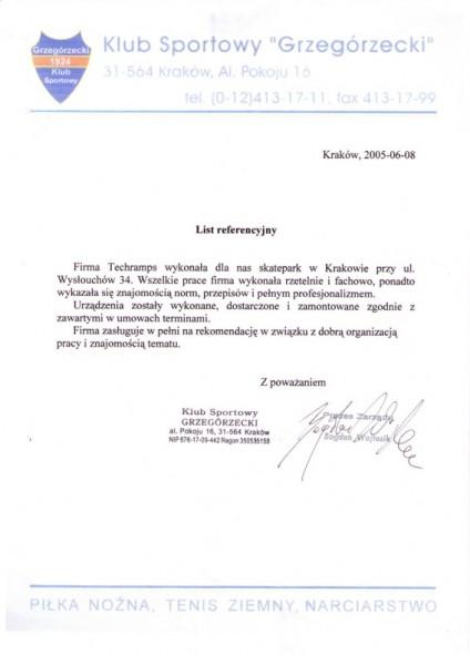 Referecje - Kraków