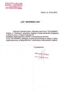 Referecje - Wieluń