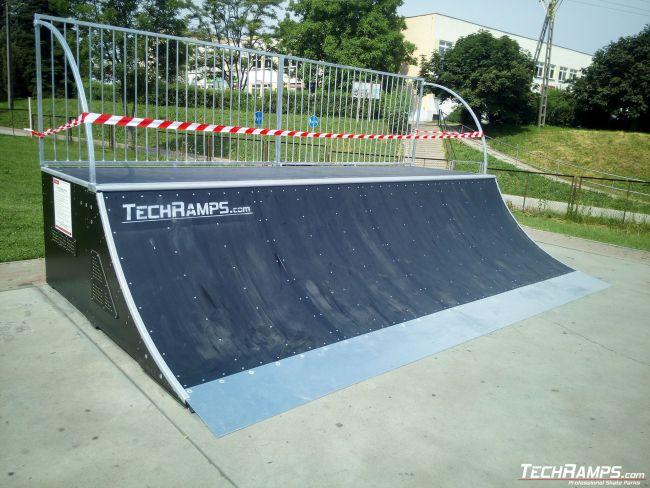 Remont Skateparku Krosno