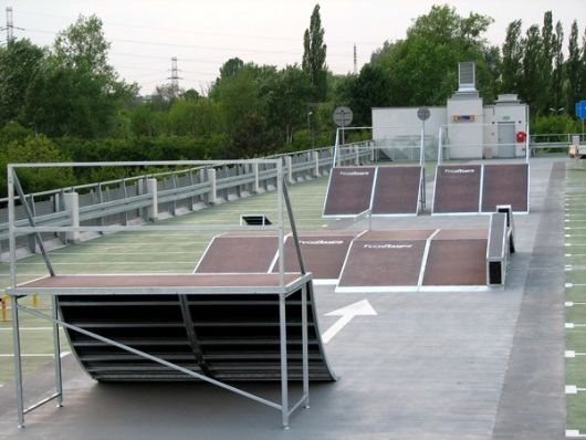 Renting mobile skatepark