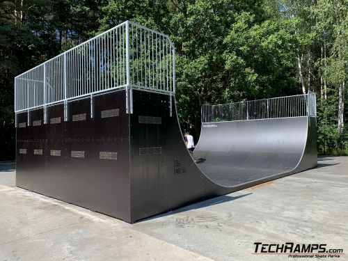 Replacing the file skatepark Sosnowiec