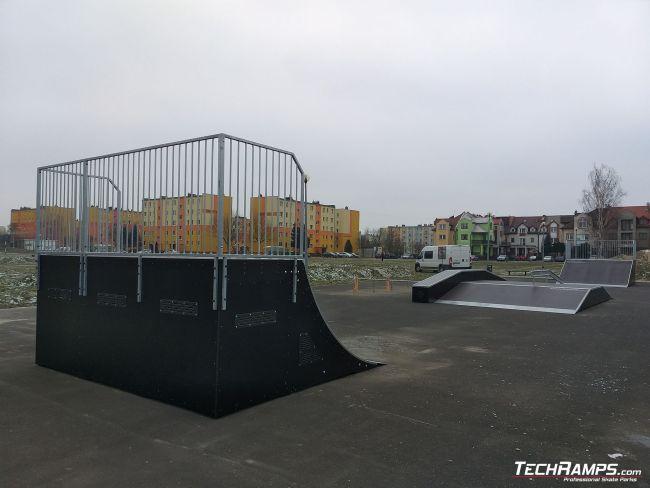 Rozbudowa skateparku w Sieradzu