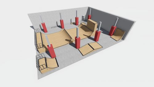 Sample modular skatepark 211018
