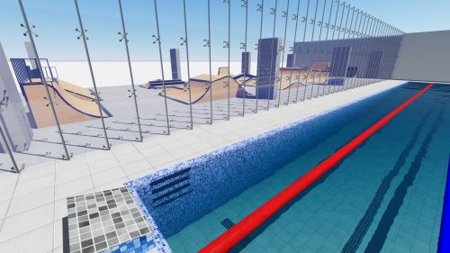 Sample modular skatepark 256321