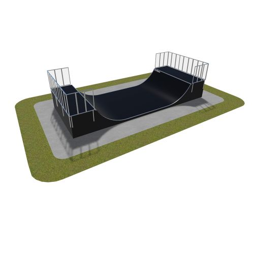 Sample modular skatepark 470115