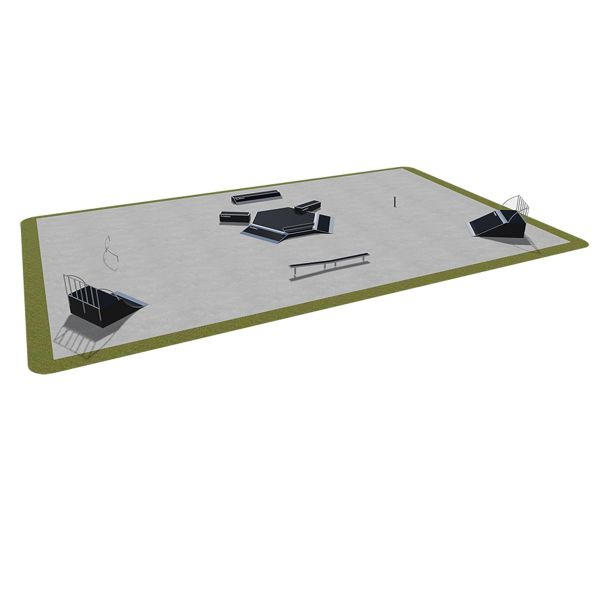 Sample modular skatepark 480115