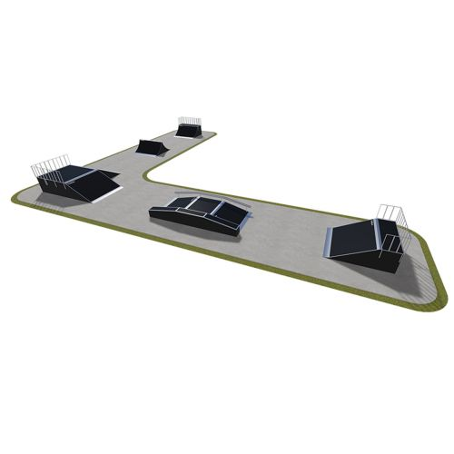 Sample modular skatepark 530115