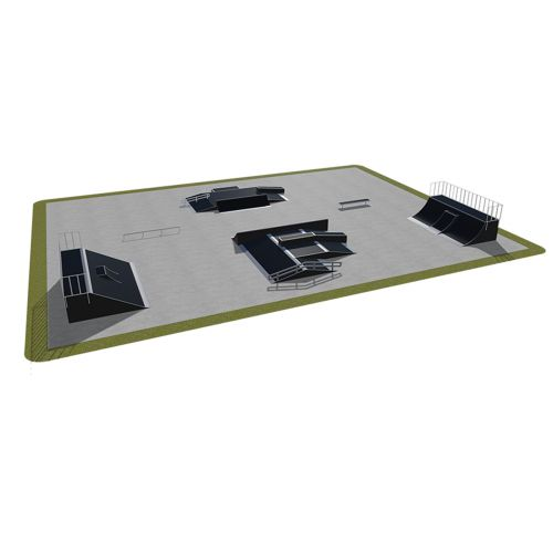 Sample modular skatepark 540115