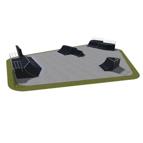 Sample modular skatepark 550115