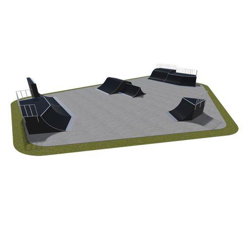Sample modular skatepark 550115