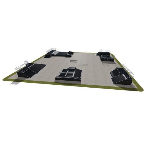 Sample modular skatepark 560115