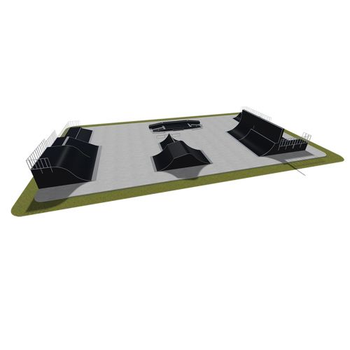 Sample modular skatepark 570115