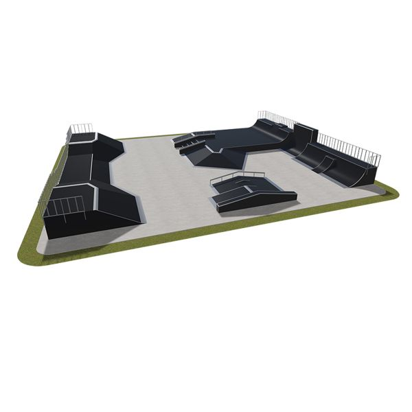 Sample modular skatepark 580115