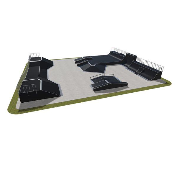 Sample modular skatepark 580115