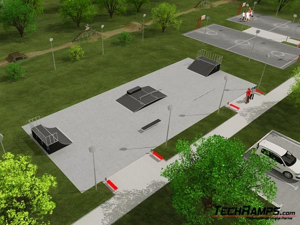 Sample skatepark no 070808