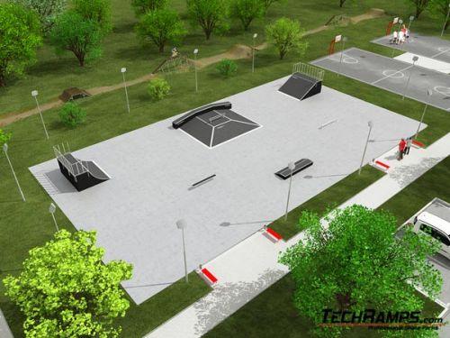 Sample skatepark no 090509