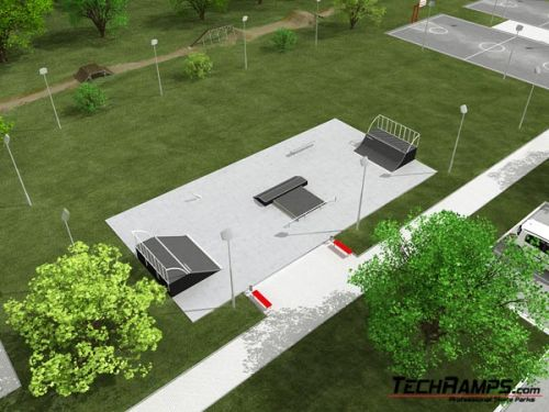 Sample skatepark no 400609