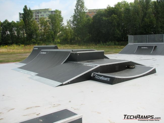 Second skatepark in Lodz