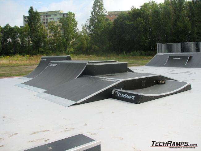 Second skatepark in Lodz