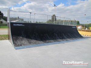Siewierz Skatepar Quater Pipe