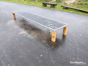 Skate bench 2 Skatepark Dobczyce
