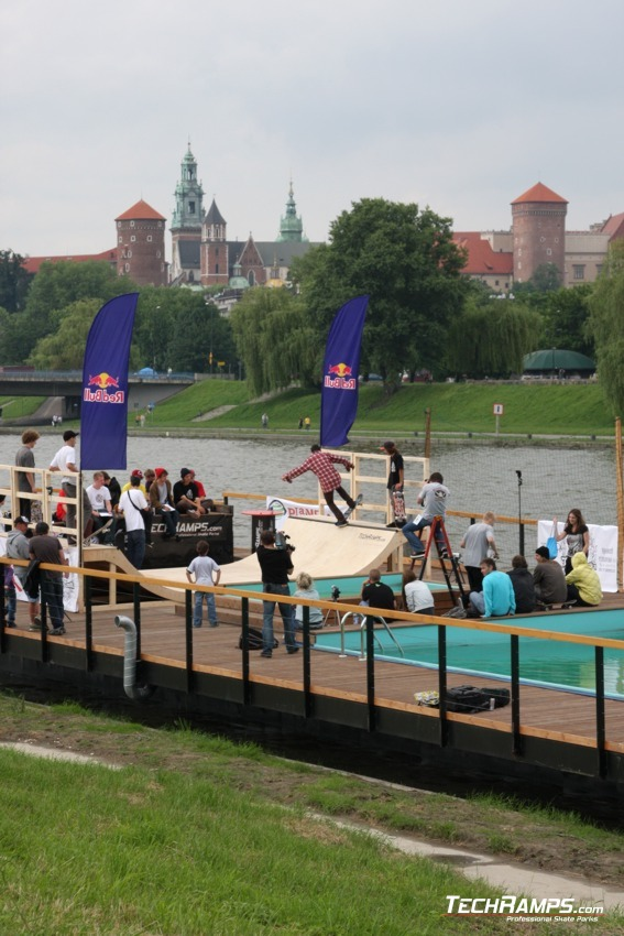 Skate-boat Contest - Kraków - 1