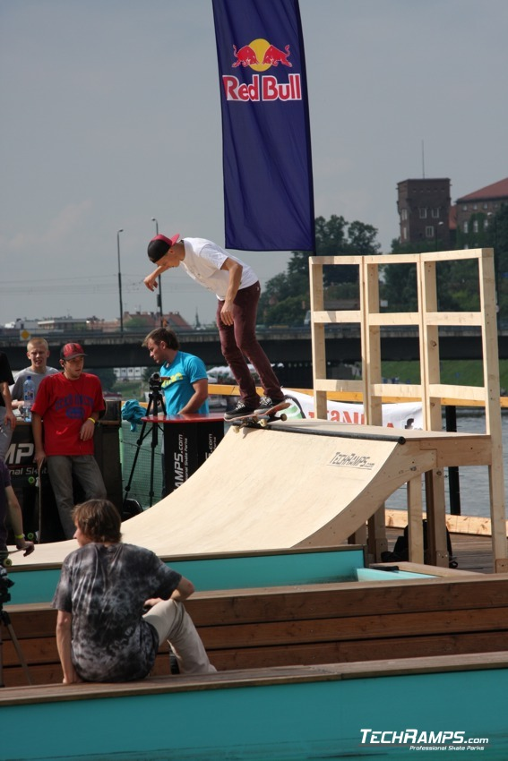 Skate-boat Contest - Kraków - 5