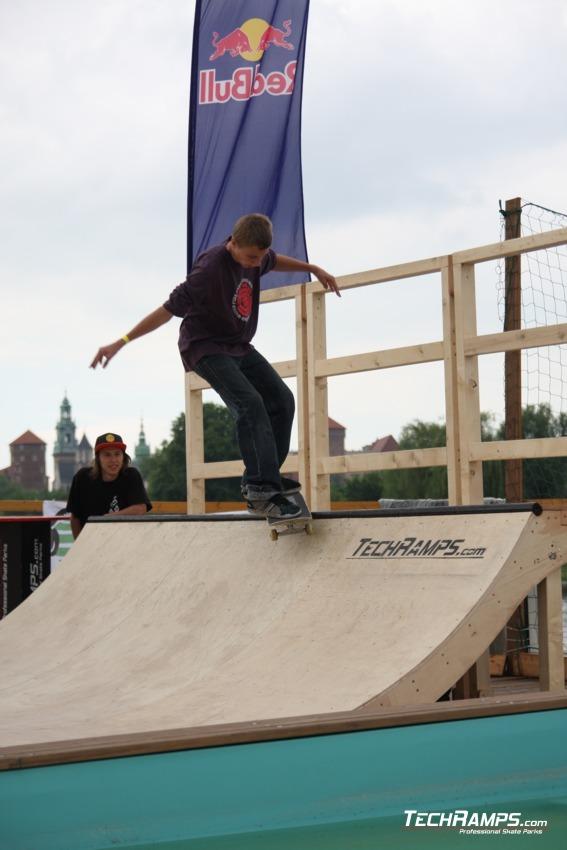 Skate-boat Contest - Kraków - 9