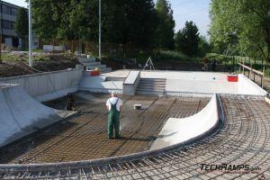 skate plaza betonowa w Radzionkowie
