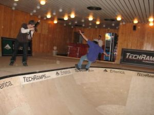Skate Pool Techramps