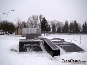 Skateaprk w Lubaczowie - 2