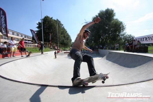 Skateboarding JAM in Radzionkow 2010