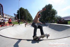 Skateboardowy JAM w Radzionkowie 2010 - Betonowy skatepark