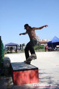 Skateboardowy JAM w Radzionkowie 2010 - Kosiu