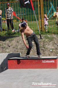 Skateboardowy JAM w Radzionkowie 2010 - otwarcie Betonowego skateparku