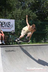 Skateboardowy JAM w Radzionkowie 2010 - Stanlej