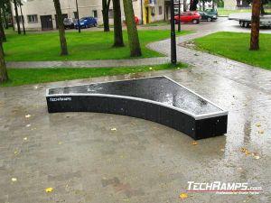 Skatepar Kłaj grindbox