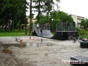 Skatepar w Kłaju panorama