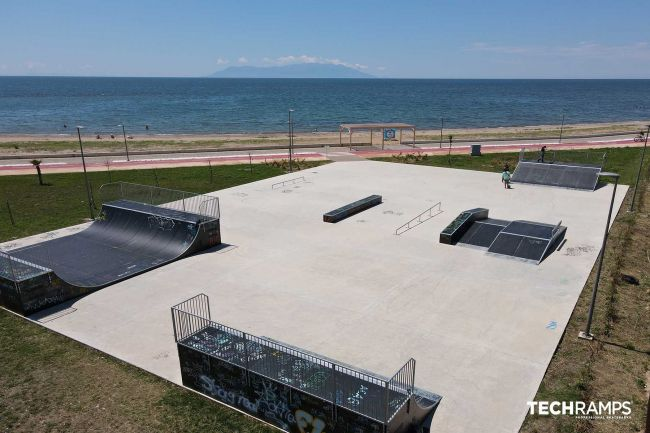 Skatepark Αλεξανδρούπολη (Ελλάδα)