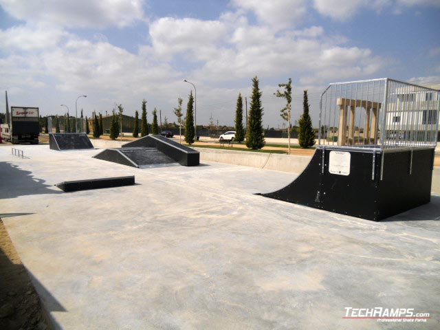 Skatepark Almacelles (Hiszpania)